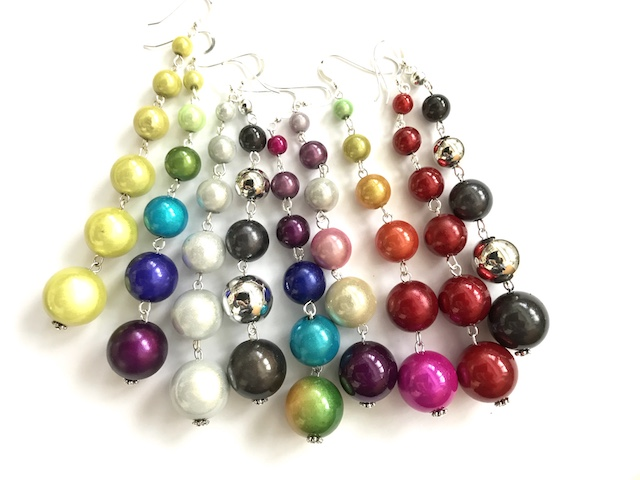 Dangly Earrings Long (6.5-10cm)