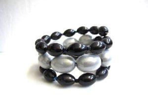Libby Bracelet in Black & White