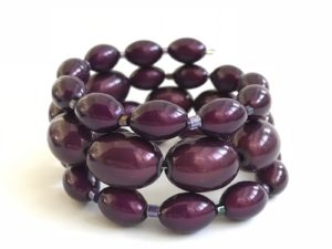 Libby Bracelet in Dark Purple