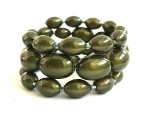 Libby Bracelet in Moss Green