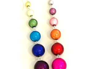 Dangly Long Earrings in Multicolor 2