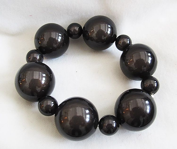 Bubble Bracelet in Black