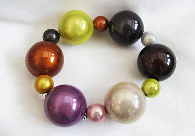 Bubble Bracelet in Multicolor