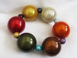 Bubble Bracelet in Multicolor