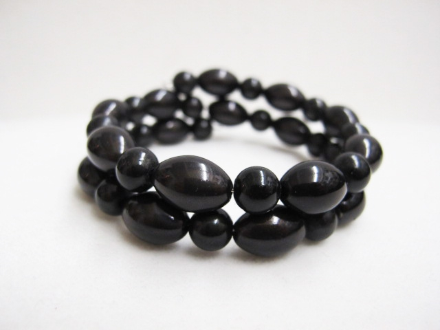 Double Bracelet in Black