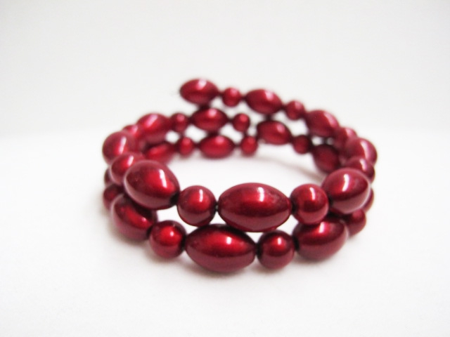 Double Bracelet in Red