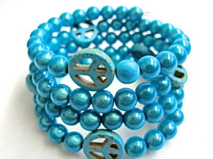 Peace Bracelet in Turquoise