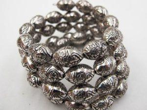 Engraved Metallic Bracelet