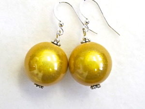 Anna Earrings in Golden Yellow