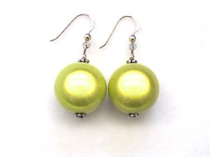 Anna Earrings in Lemon Yellow