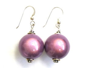 Anna Earrings in Purple