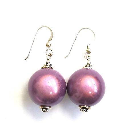 Anna Earrings in Purple