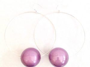 Viki Hoops in Purple