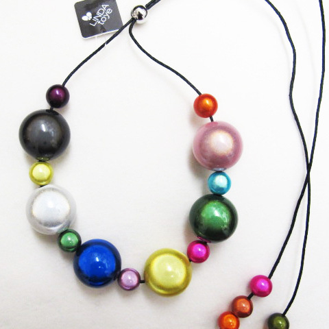 The Bubble Necklace Multicolor
