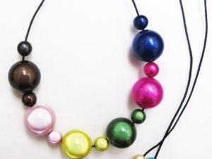 The Bubble Necklace Multiclor