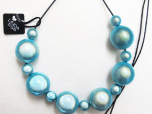 The Bubble Necklace Turqoise