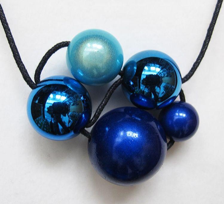Adjustable Cluster Necklace
