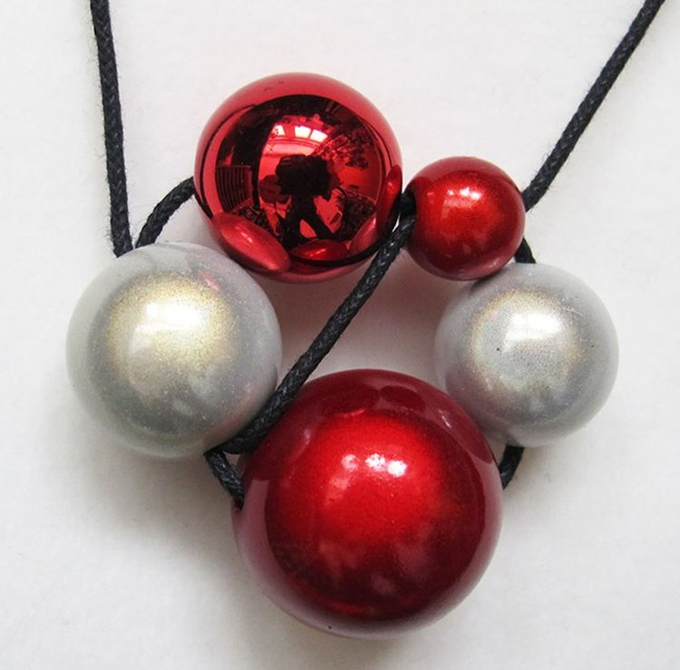 Adjustable Cluster Necklace