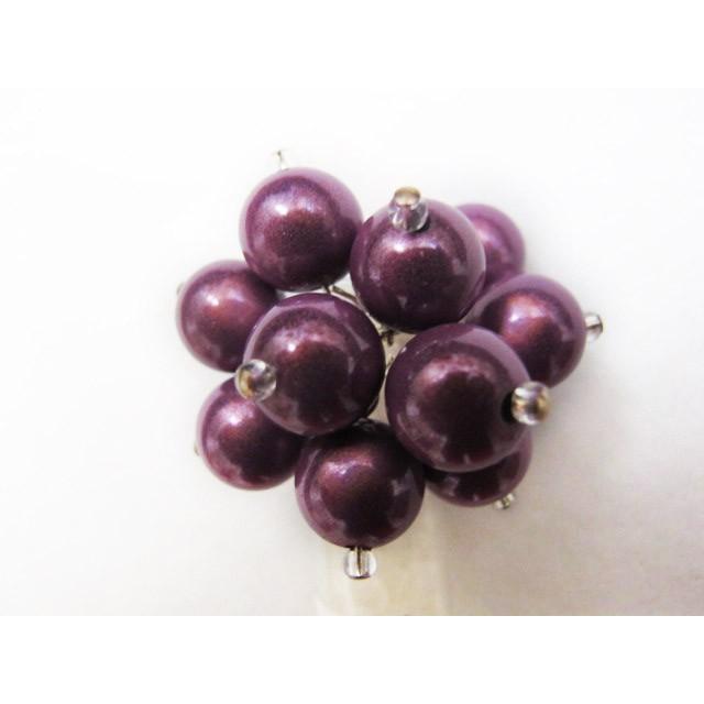Flower Ring in Purple