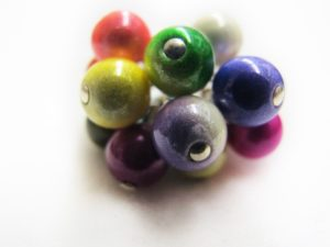 Small Flower Ring in Multicolor