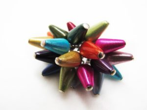 Spikey Ring in Multicolor