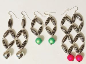 Earrings Metallic